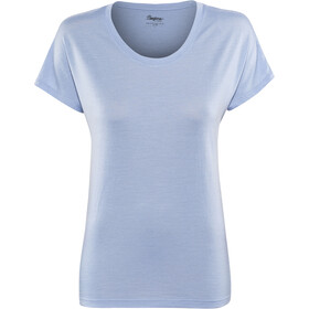 Bergans Oslo Wollen T-shirt Dames, air blue